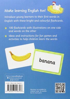First English Words Flashcards - фото книги