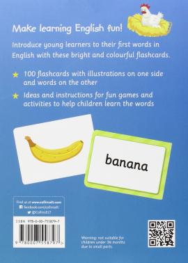 First English Words Flashcards - фото книги