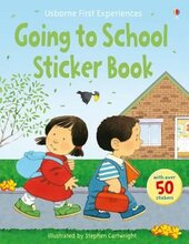 First Experiences. Going to School. Sticker Book - фото обкладинки книги