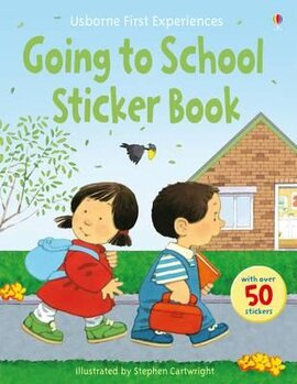 First Experiences. Going to School. Sticker Book - фото книги