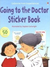 First Experiences. Going to the Doctor. Sticker Book - фото обкладинки книги