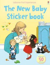 First Experiences. The New Baby. Sticker Book - фото обкладинки книги