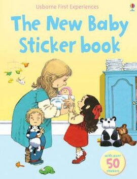 First Experiences. The New Baby. Sticker Book - фото книги