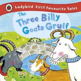 First Favourite Tales: The Three Billy Goats Gruff - фото книги