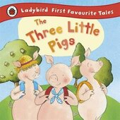 First Favourite Tales: The Three Little Pigs - фото обкладинки книги