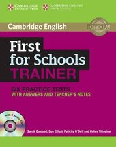First for Schools Trainer Six Practice Tests with Answers and Audio CDs (3) - фото обкладинки книги