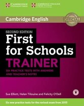 Аудіодиск First for Schools Trainer Six Practice Tests with Answers and Teachers Notes with Audio