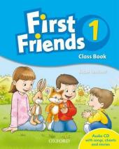 First Friends 1: Class Book with Audio CD (підручник з диском) - фото обкладинки книги