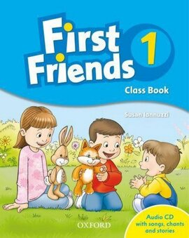 First Friends 1: Class Book with Audio CD (підручник з диском) - фото книги