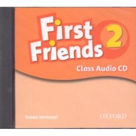 First Friends 2: Class Audio CD(аудіоматеріали) - фото книги