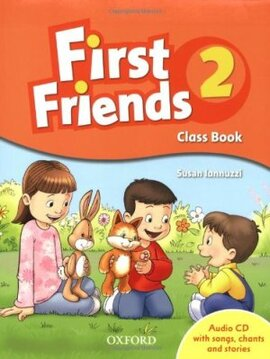 First Friends 2: Class Book with Audio CD (підручник з диском) - фото книги