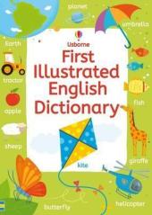 First Illustrated English Dictionary - фото обкладинки книги