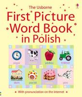 First Picture Book in Polish - фото обкладинки книги