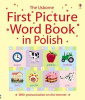 Книга First Picture Book in Polish