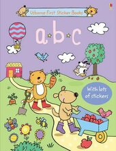 First Sticker Book. ABC - фото обкладинки книги
