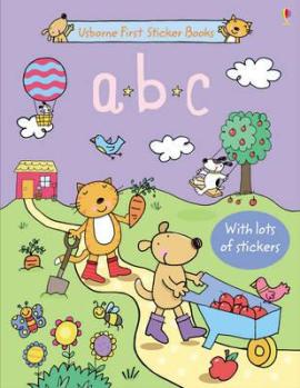 First Sticker Book. ABC - фото книги
