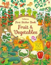 First Sticker Book. Fruit and Vegetables - фото обкладинки книги