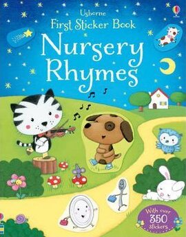 First Sticker Book. Nursery Rhymes - фото книги
