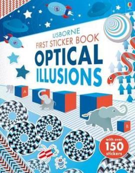 First Sticker Book. Optical Illusions - фото книги