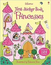 First Sticker Book. Princesses - фото обкладинки книги
