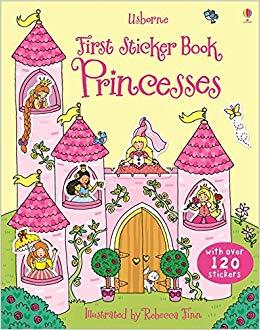 First Sticker Book. Princesses - фото книги