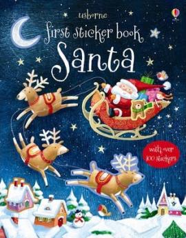 First Sticker Book. Santa - фото книги
