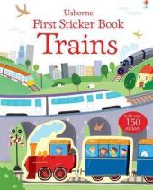 First Sticker Book. Trains - фото обкладинки книги