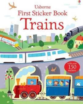 First Sticker Book. Trains - фото книги