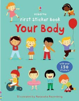 First Sticker Book. Your Body - фото книги