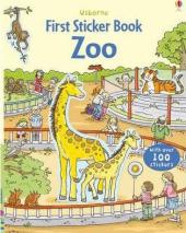 First Sticker Book. Zoo - фото обкладинки книги