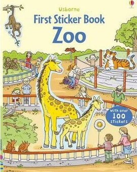 First Sticker Book. Zoo - фото книги