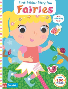 First Sticker Concepts: Fairies - фото книги