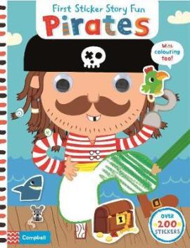 First Sticker Concepts: Pirates - фото книги