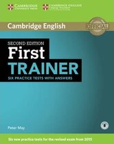 Аудіодиск First Trainer Six Practice Tests with Answers with Audio