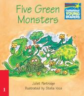 Five Green Monsters Level 1 ELT Edition - фото обкладинки книги