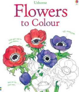 Книга Flowers to Colour