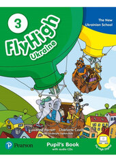 Fly High 3 Ukraine Pupil's Book with Audio CDs and Digital Resources - фото обкладинки книги