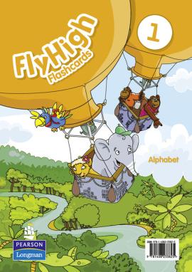 Fly High Level 1 Alphabet Flashcards (алфавітні картки) - фото книги