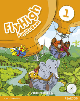 Fly High Level 1 Student's Book with Audio CD (підручник) - фото книги