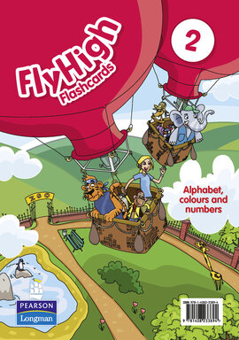 Fly High Level 2 Alphabet Flashcards (алфавітні картки) - фото книги