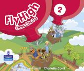 Fly High Level 2 Class Audio CDs (3) (аудіодиск) - фото обкладинки книги