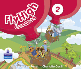 Fly High Level 2 Class Audio CDs (3) (аудіодиск) - фото книги