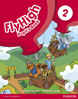Fly High Level 2 Student's Book with Audio CD (підручник) - фото книги