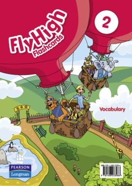 Fly High Level 2 Vocabulary Flashcards (словник в малюнках) - фото книги