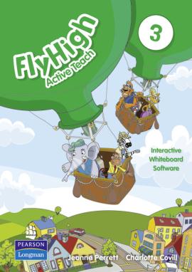 Fly High Level 3 Active Teach Interactive Whiteboard Software (інтерактивний курс) - фото книги