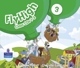 Fly High Level 3 Class CDs (3) (аудіодиск) - фото книги