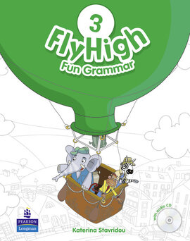 Fly High Level 3 Fun Grammar Student's Book with Audio CD (підручник з граматики) - фото книги
