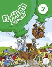 Fly High Level 3 Pupil's Book (with Audio CDs) Ukrainian edition (підручник) - фото обкладинки книги