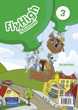 Fly High Level 3 Vocabulary Flashcards (словник в малюнках) - фото книги
