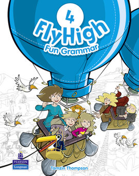 Fly High Level 4 Fun Grammar Student's Book (підручник з граматики) - фото книги